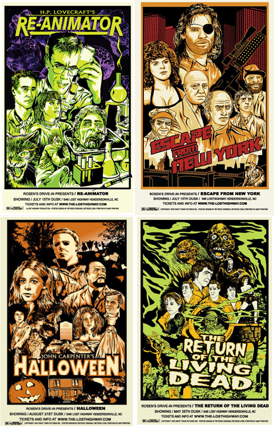 Win b-movie posters